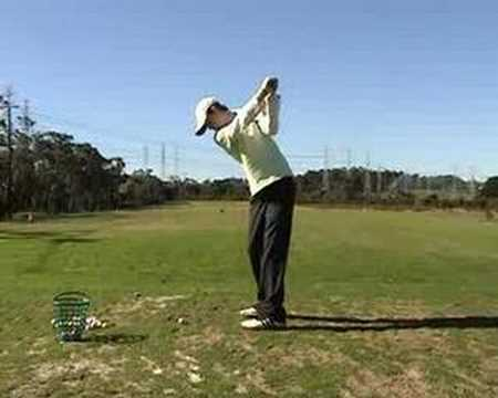 Perfect Left Handed Golf Swing Youtube
