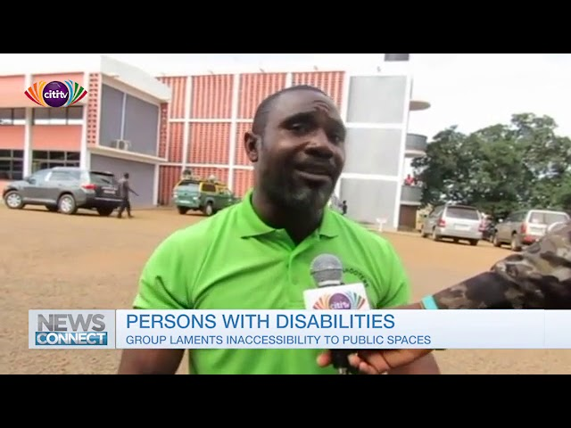 News Connect: Group highlights the lack of access to public spaces for persons with disability