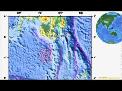 M 6.0 EARTHQUAKE - CELEBES SEA 10/17/12