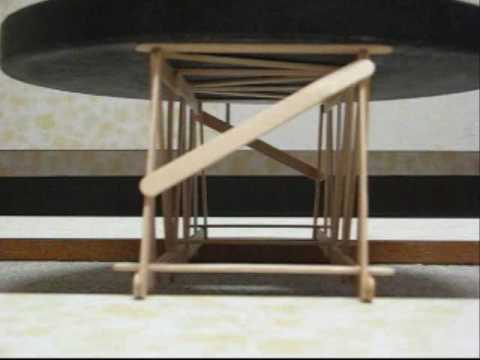 Short Pratt Truss Popsicle Stick Bridge