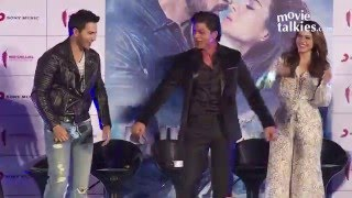 Tu Meri Premika Song Launch | Dilwale | Varun Dhawan, Kriti Sanon, SRK Kajol