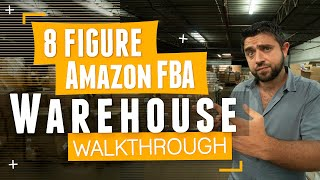 Walkthrough of an 8 Figure 3rd Party Amazon Sellers Warehouse | 🔥The FBA Machine