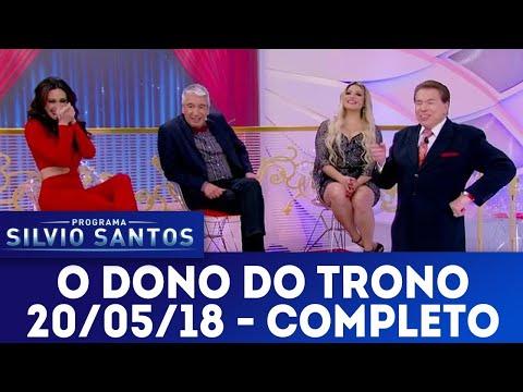 O Dono do Trono - Completo | Programa Silvio Santos (20/05/18)