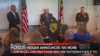 Maryland Gov. Larry Hogan announces plans to reopen Maryland State Police barracks