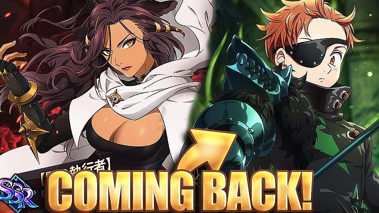 SUPER BOSS KING COMING BACK AND MORE CELEBRATIONS INFO!!   Seven Deadly Sins: Grand Cross