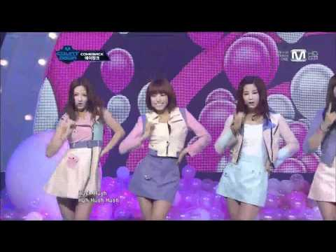[HD] Performance 120510 A Pink - April 19th + HUSH (Comeback 1st Stage)