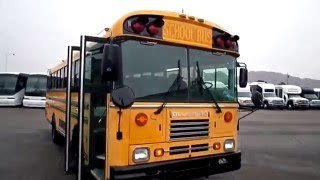 Used Bus For Sale -  2000 Bluebird Wheelchair Accessible School Bus For Sale B96461