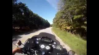 Hwy 12 to Hwy 127, back to Hwy 12. NW Arkansas during BBB 2014