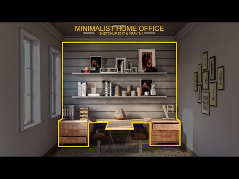 Home Office Design Tutorial thumbnail