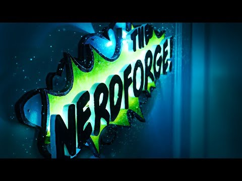 Make a Magical GLOWING Door Sign - Comic Style!