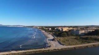 Alcudia Palma de Mallorca -vista de drone