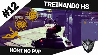 Warface: HOMI NO PVP #12 / TREINANDO HS