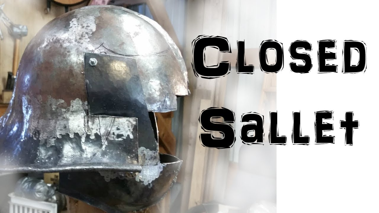 Making a Closed Sallet - Part 3