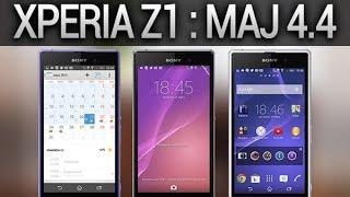 Sony Xperia Z1, présentation de la mise à jour 4.4 KitKat - par Test-Mobile.fr