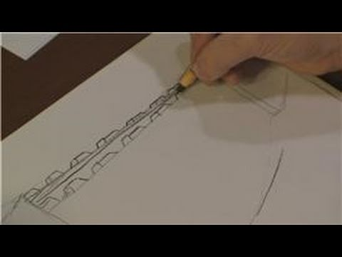 Drawing 101  How to Draw the Great Wall of China for Kids  YouTube
