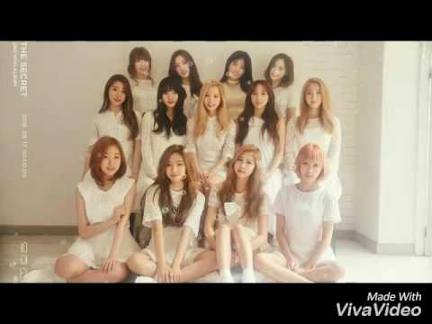WJSN / COSMIC GIRLS - SECRET OFFICIAL INSTRUMENTAL/KARAOKE with lyrics