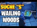 Fortnite Phase 2: Suche Buchstabe S bei Wailing Woods - ALLE Locations Season 7 Woche 4