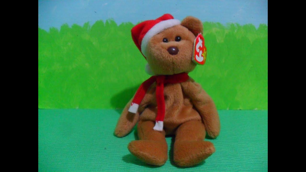 40a18b325ee Ty Beanie Baby 1997 TEDDY (1997) - YouTube