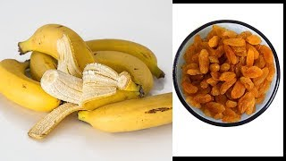 How to prepare banana with raisin for maximum benefits//Kings Remedies