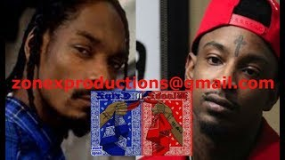 Snoop dogg GOES off on Crips NOT protectin him Against 21 Savage & Bloods in East Atlanta!