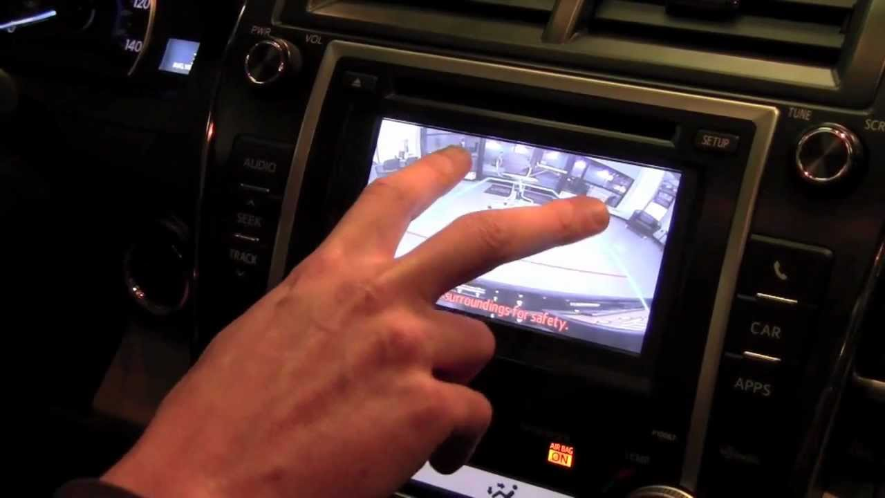 2012 Toyota Camry Back Up Camera How To By Toyota City Minneapolis Mn Youtube