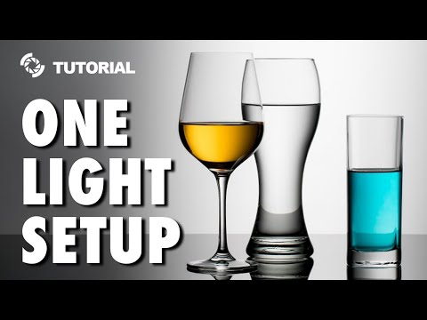 Only One Light for a Great Shot: Studio Photography Tips and Tricks