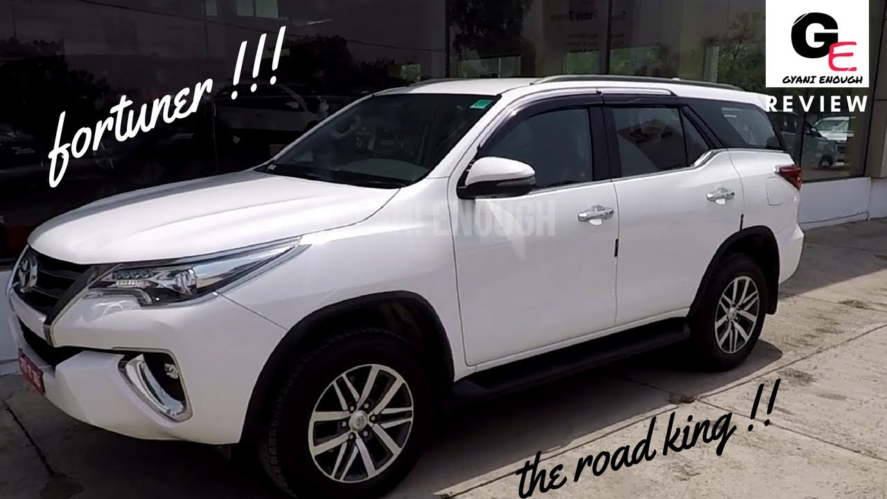 2018 Toyota Fortuner 2 8 Sigma 4 Automatic | 4x4 | detailed review |  features | price | specs !!!