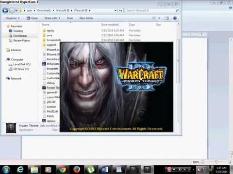 HOW TO DOWNLOAD WARCRAFT III With Frozen Throne FREE Full version