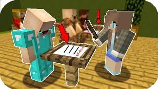 ZENGİN KOPYA ÇEKERKEN YAKALANDI! 😱 Minecraft