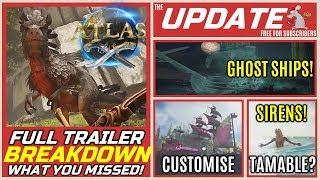 ATLAS Delayed! - Full Trailer Breakdown - Rabbits! Wolves! Dinos! What You Missed