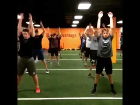 Counter Movement Jump Squat HOCKEY ACADEMY North Dakota