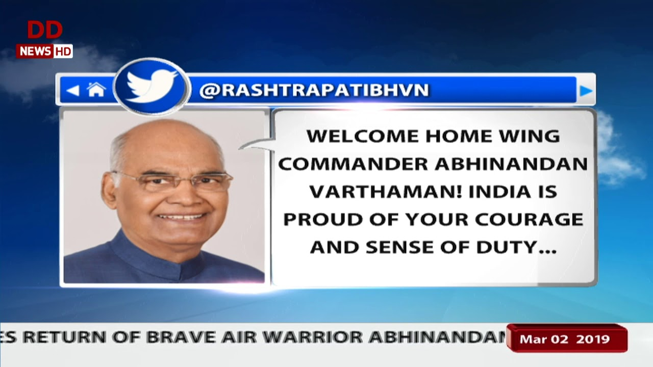 """""""Wing Commander Abhinandan Back With Us, Proud Of Air Warrior"""", Says IAF"""