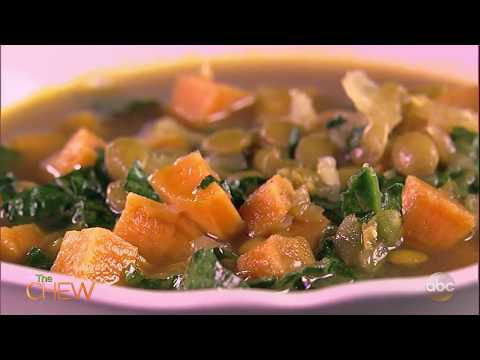How To Make Bone Broth Lentil Soup | The Chew