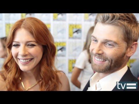 Rachelle Lefevre And Mike Vogel Interview - Under The Dome (CBS) Season 2