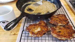 Breaded Southern Fried Pork Chops Recipe With Tutorial - The Hillbilly Kitchen