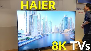 Haier 8K TV Solutions at CES 2019