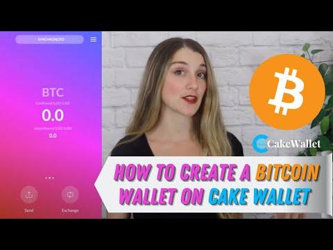 How To Create A Bitcoin Wallet On Cake Wallet + Sending \u0026 Receiving BTC