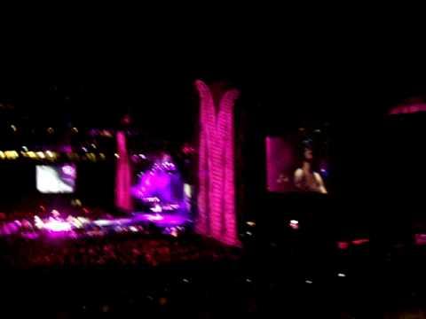 Madonna Concert LIVE! Ford Field Detroit Michigan USA