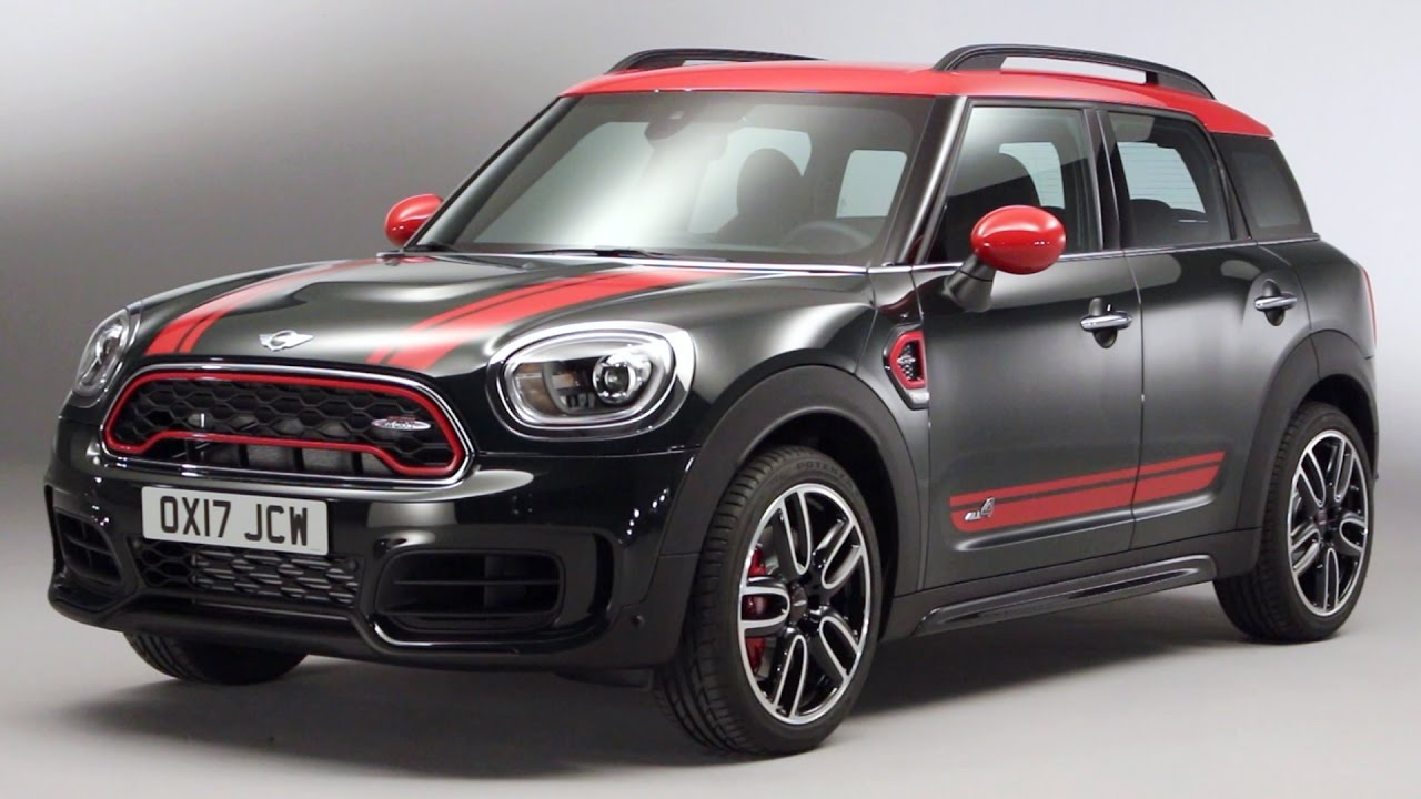 2017 mini countryman john cooper works youtube. Black Bedroom Furniture Sets. Home Design Ideas