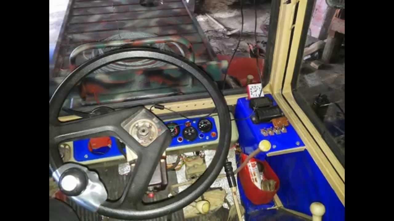 Как работает электрофакельный подогреватель мтз 82.