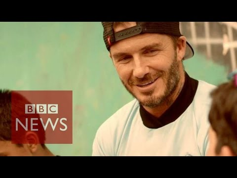 David Beckham: 'I want to play football on Antarctic' - BBC News