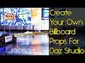 Daz Studio Props - Billboards