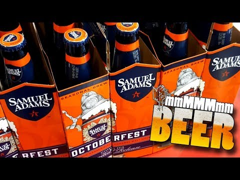 I LOVE THIS BEER!!! Samuel Adams Octoberfest │ mmMMMmm Beer