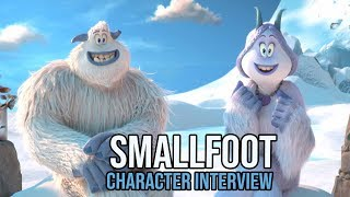 SMALLFOOT Interview with Migo & Meechee | Family-Friendly