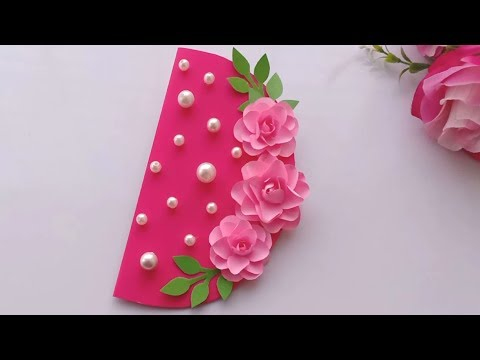How to make Birthday Card // Handmade easy card Tutorial