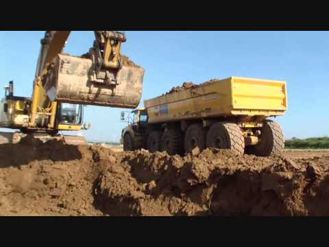 Volvo A30F with BECO MAXXIM 600 trailer (payload 60T) (2)