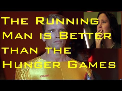 The Running Man is Better than The Hunger Games