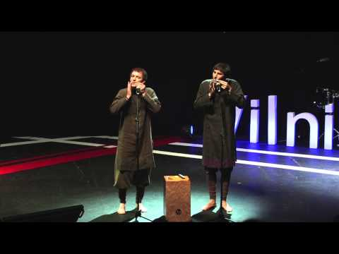 Jew's Harp, Listen and You Will Hear It: Valentinas & Viaceslavas at TEDxVilnius