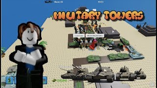 Military Towers Only Challenge   Tower Defense Simulator