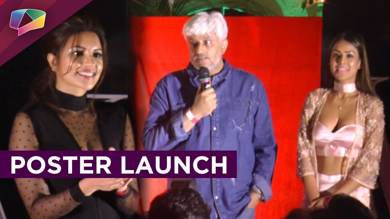Poster Launch Of Vikram Bhatts Web Series Maaya With Nia